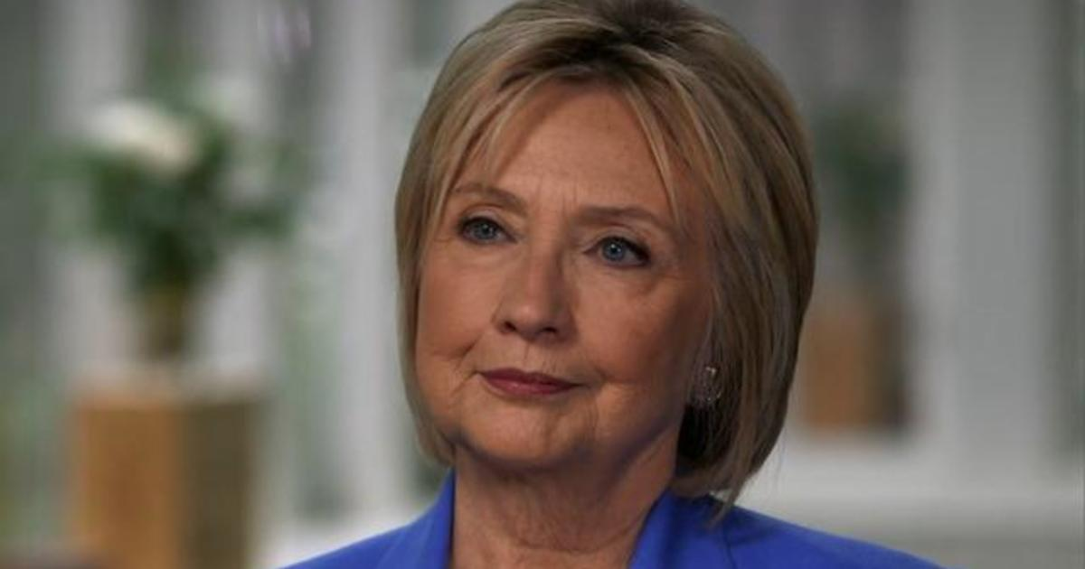 """Hillary Clinton on """"CBS Sunday Morning"""": Bill should """"absolutely not"""" have resigned over Lewinsky scandal - CBS News"""