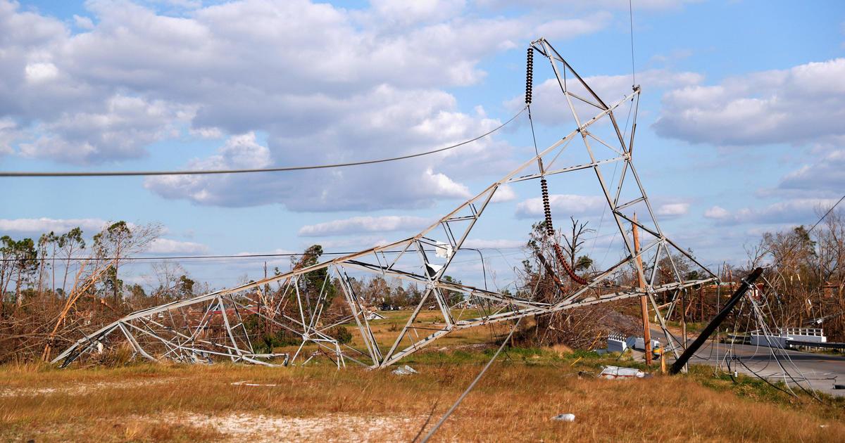 Hurricane Michael: Trump to tour ravaged areas of Florida and ...