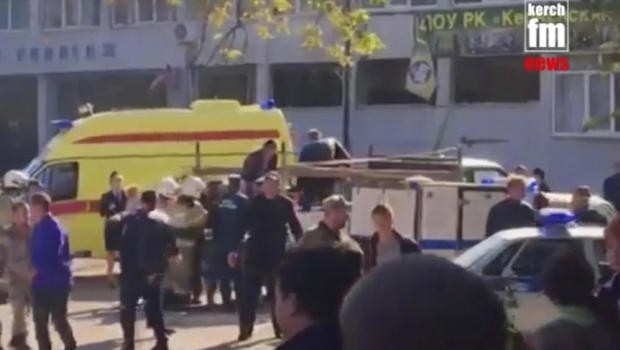 Attack on Crimean Technical College Kills 18