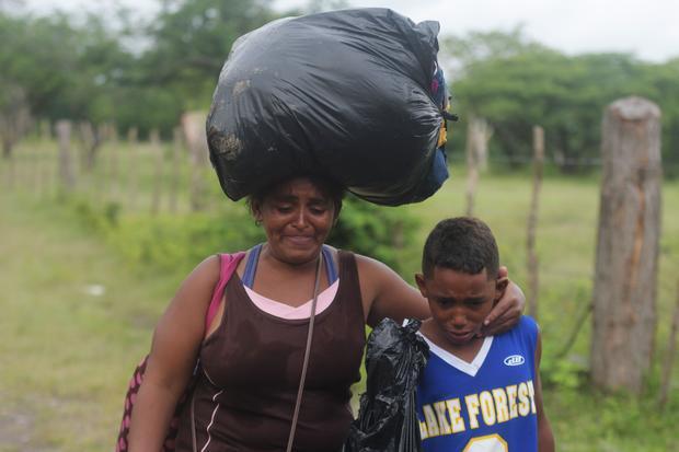 HONDURAS-EL SALVADOR-US-MIGRATION