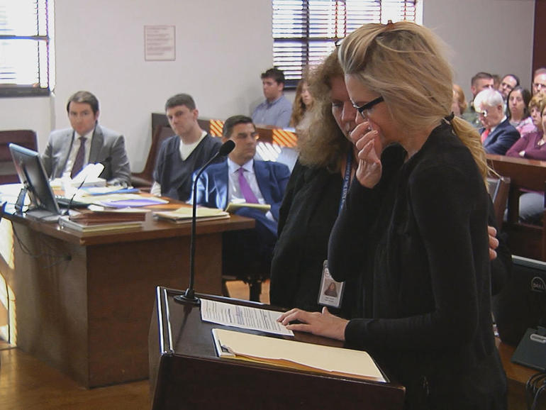 Denise Williams and Brian Winchester in court
