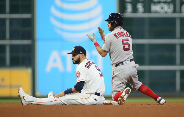 MLB: ALCS-Boston Red Sox at Houston Astros
