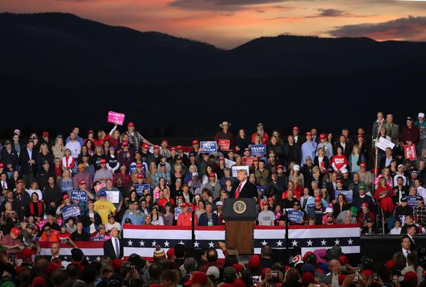 Donald Trump, Missoula, Montana Rally