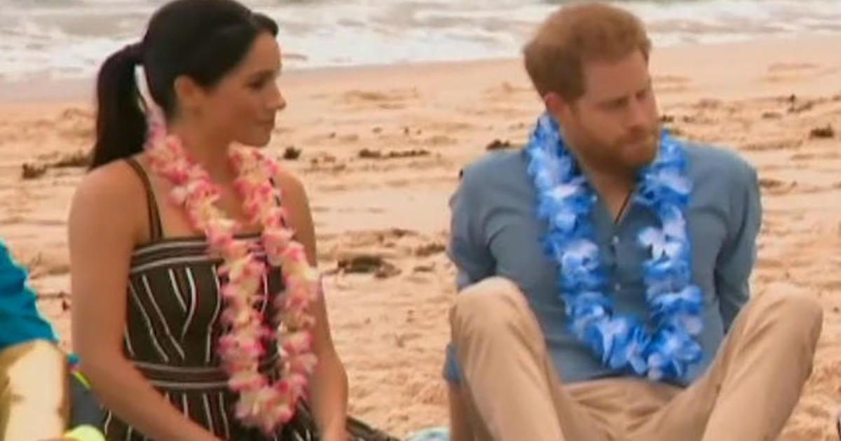 Harry and Meghan wrap up Australia tour