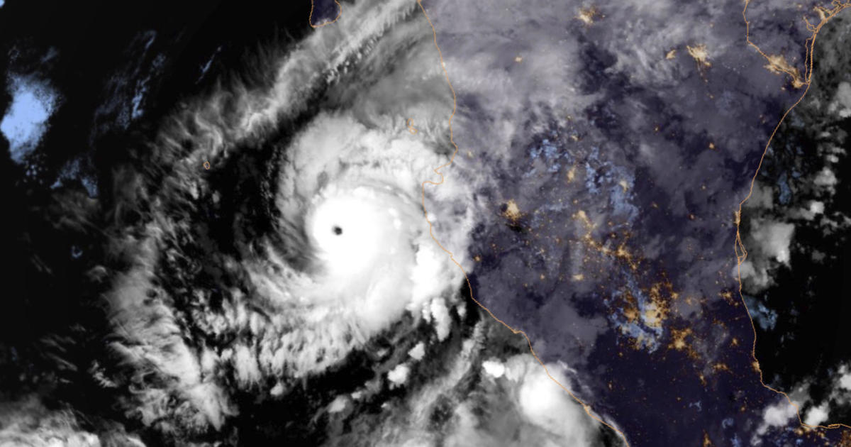 Hurricane Willa becomes Category 5 storm off Mexico's Pacific coast