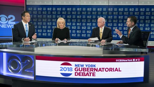 Cuomo and Molinaro Spar in Gubernatorial Debate