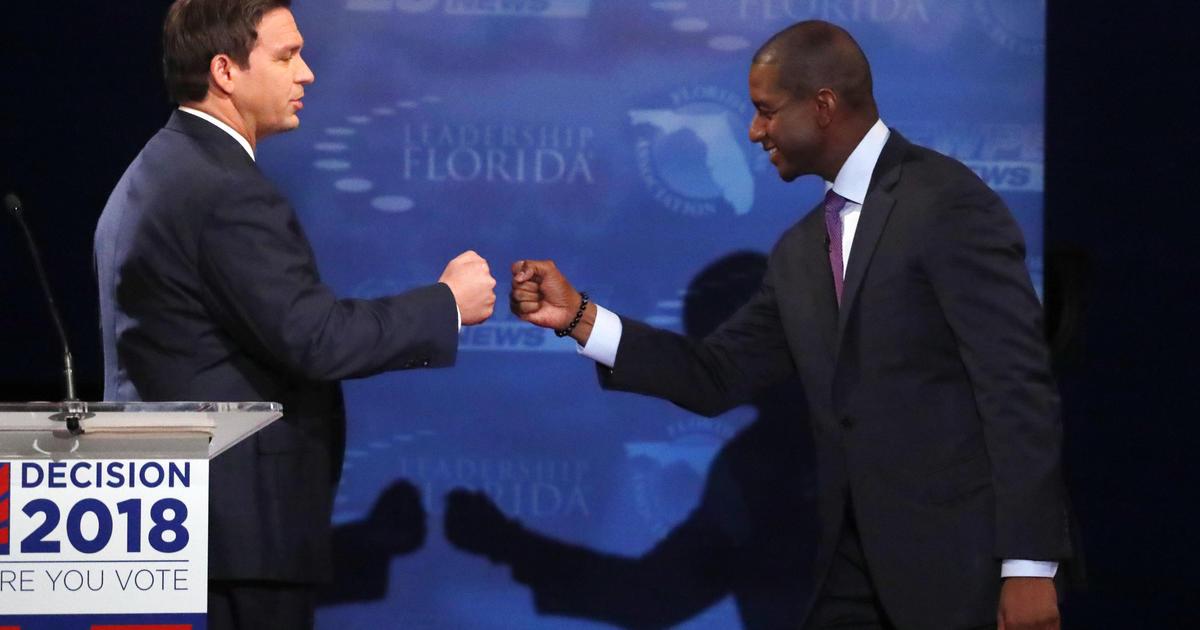 91182aa765c5a Florida governor s race  Ron DeSantis criticizes Andrew Gillum over Dream  Defenders