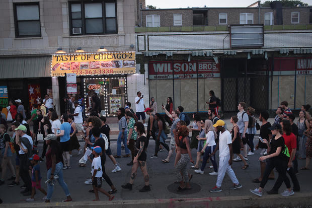 Activists Continue To Protest After Weekend's Police Shooting On Chicago's South Side