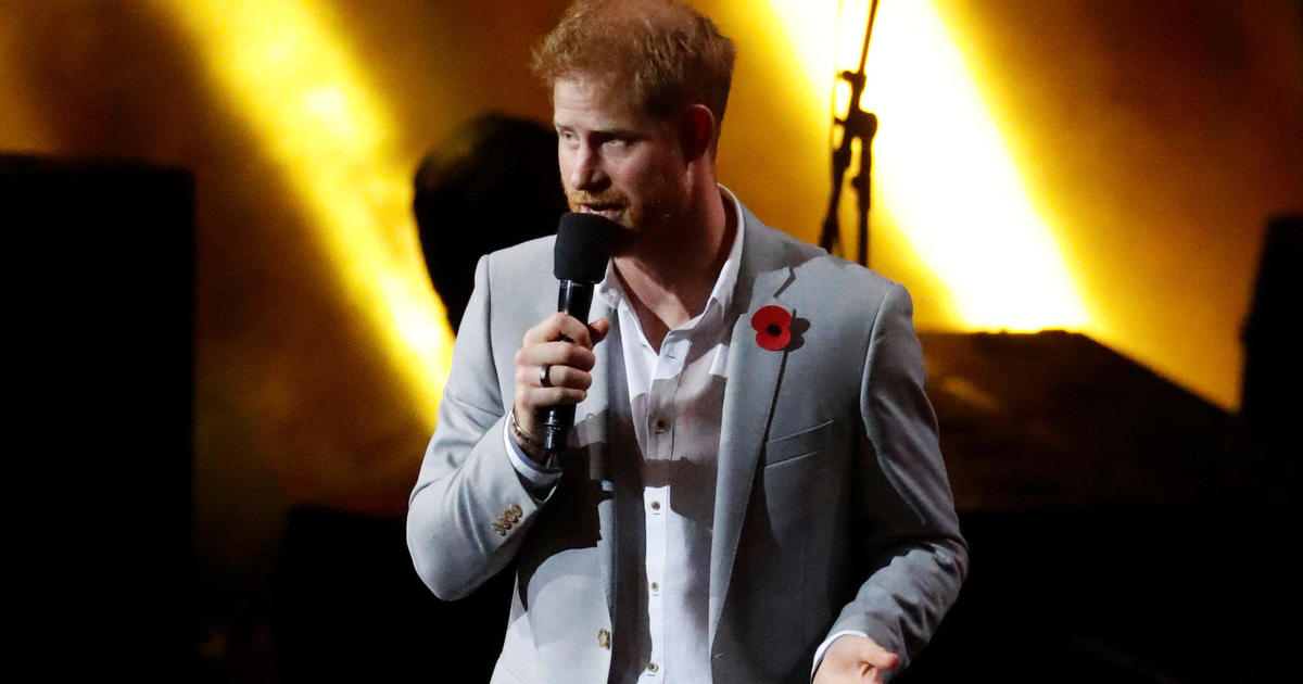 Prince Harry opens up about mental health struggles in Invictus Games closing ceremony
