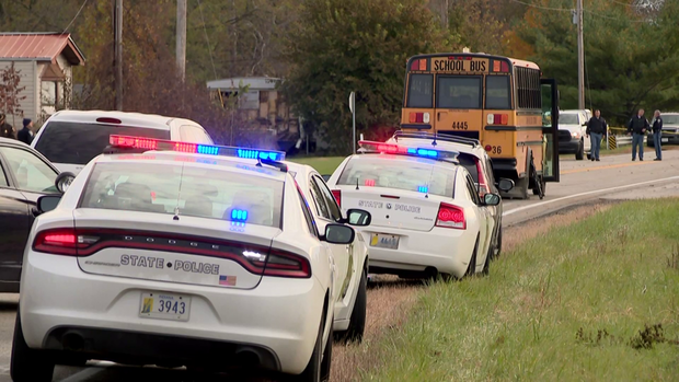 Indiana school bus stop accident: 3 children killed near