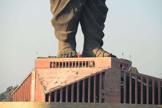 INDIA-STATUE-POLITICS