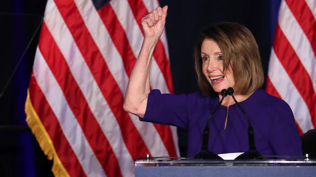 Nancy Pelosi midterms 2018