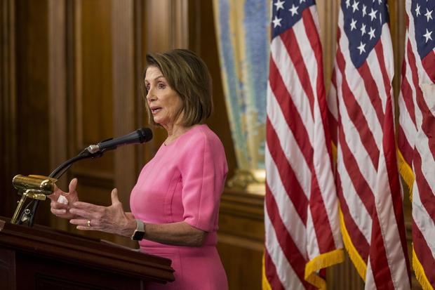 Nancy Pelosi post-midterms 2018