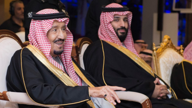 King Salman and Crown Prince Mohammed bin Salman