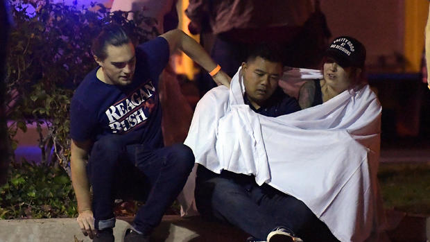 Mass shooting at California bar