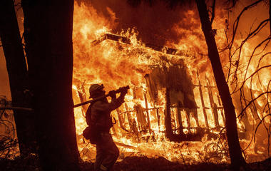 Wildfires tear through Northern, Southern California