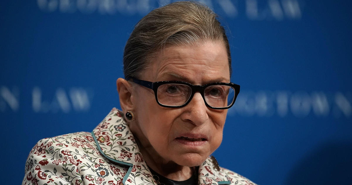 Ruth Bader Ginsburg fractures 3 ribs and hospitalized