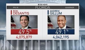 Florida recount underway in tight Senate, governor races