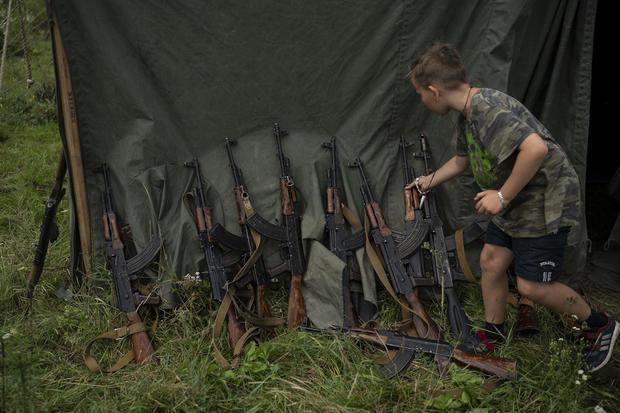 Ukraine Nationalist Youth Camp