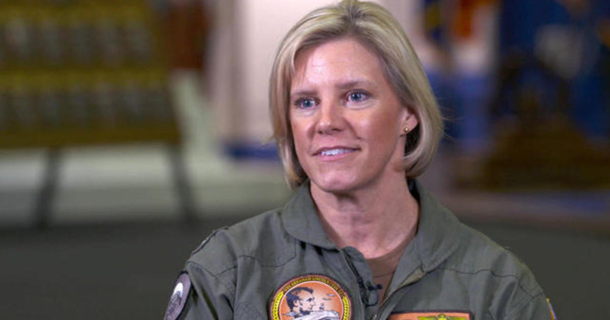 Navy's 1st female executive officer leads with unique leadership style