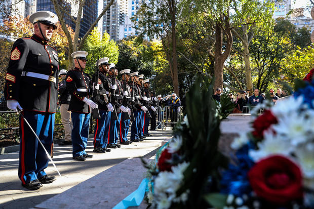 New York City's Veterans Day Parade commemorates the centennial of the end of World War I in New York City