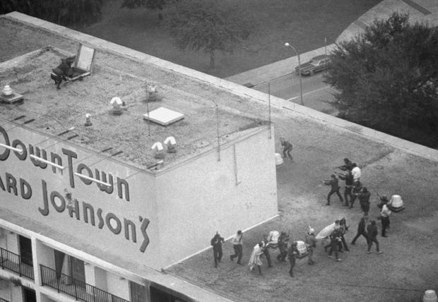Crime U.S. Dead Sniper New Orleans  1973