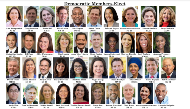 Image result for IMAGES OF DEMOCRATS FRESHMEN HOUSE REPRESENTATIVES