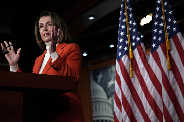 Nancy Pelosi Holds Weekly Press Conference At U.S. Capitol