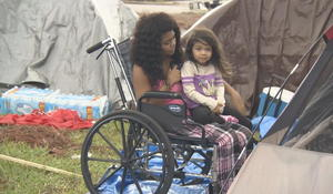 Families still sleeping in tents 5 weeks after Hurricane Michael
