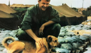 A soldier says a stranger's Christmas card got him through Vietnam. He just met the sender