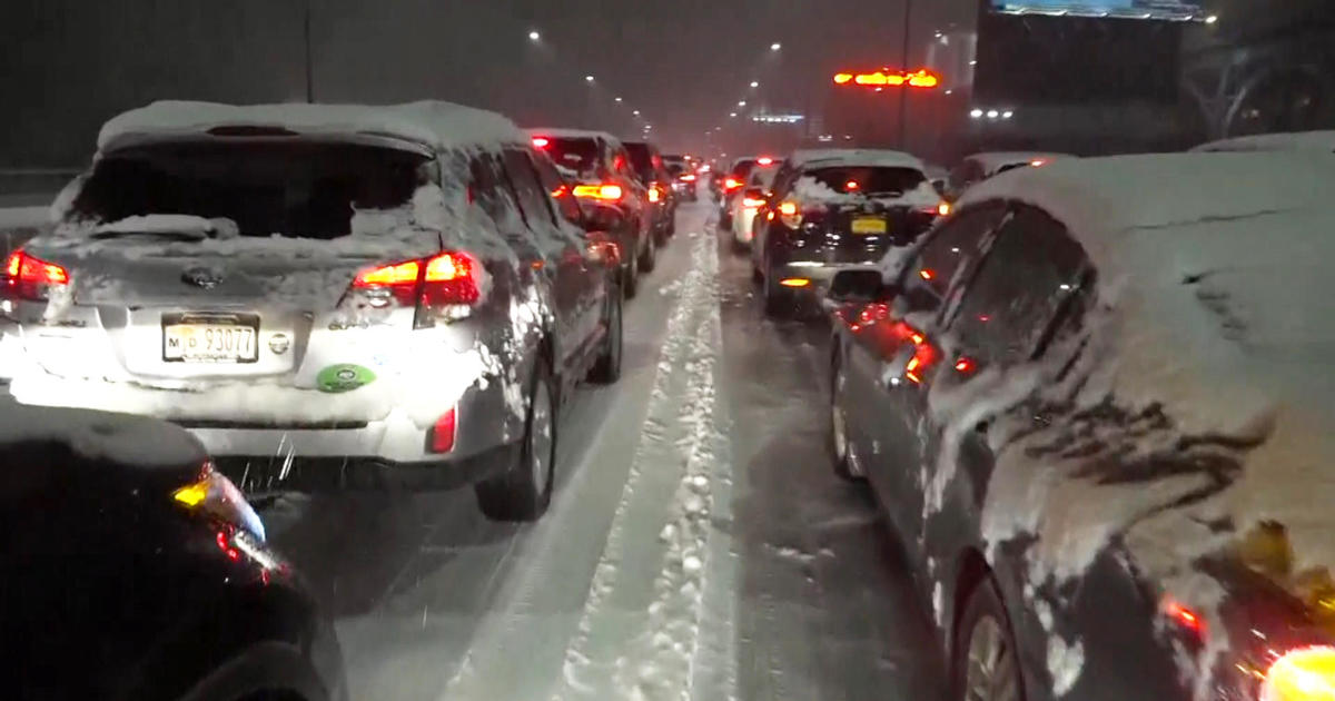 Image result for Snowstorm Cripples NYC Area With 10-Hour Traffic Nightmare