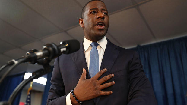 Andrew Gillum Ends Florida Governor Bid, Concedes On Facebook Live