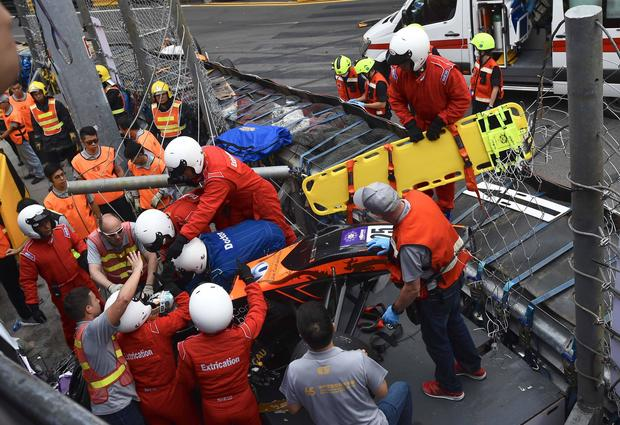 5 Injured In Accident During Macao Grand Prix 2018