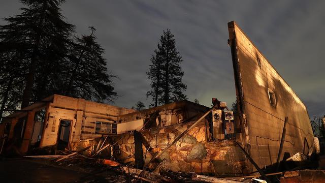 paradise, california — deadly wildfires