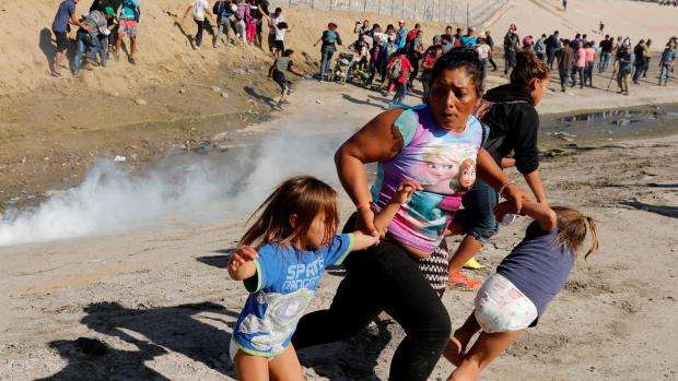 Migrant caravan seeks refuge