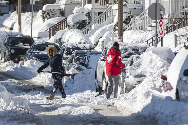 "Northeast U.S. Digs Out After  ""Bomb Cyclone"" Snowstorm"