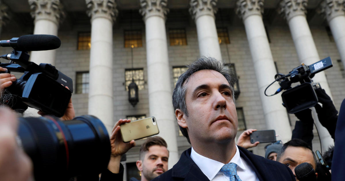 Michael Cohen sentencing in federal court — live updates