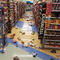 Earthquake damage is seen inside a store in Anchorage, Alaska