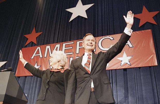 Bush Victory Rally