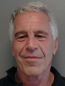 Florida Department of Law Enforcement photo of Jeffrey Epstein