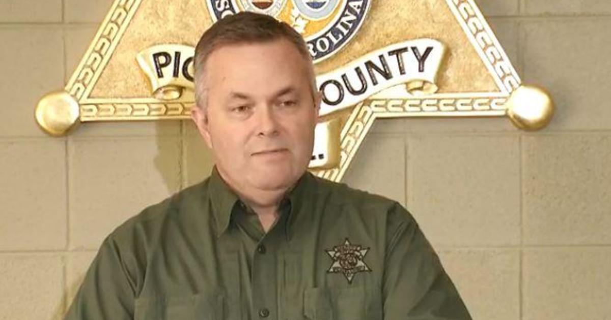 Pickens County Sheriff Rick Clark. Foto: CBS News.