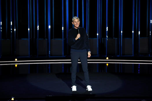 Netflix release trailer for Ellen DeGeneres' stand-up comedy special