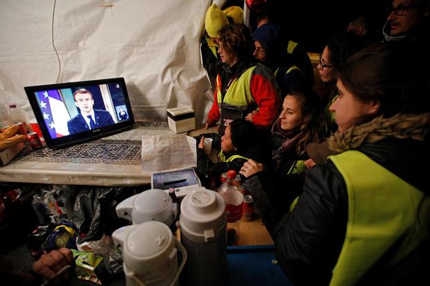 Emmanuel Macron — Yellow Vests protests