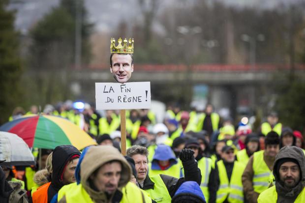 'Yellow Vests' Assemble Across France