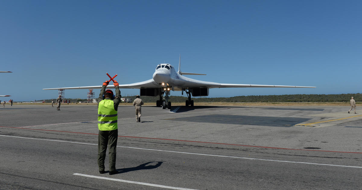 Russia sends bombers to Venezuela, calls U.S. reaction