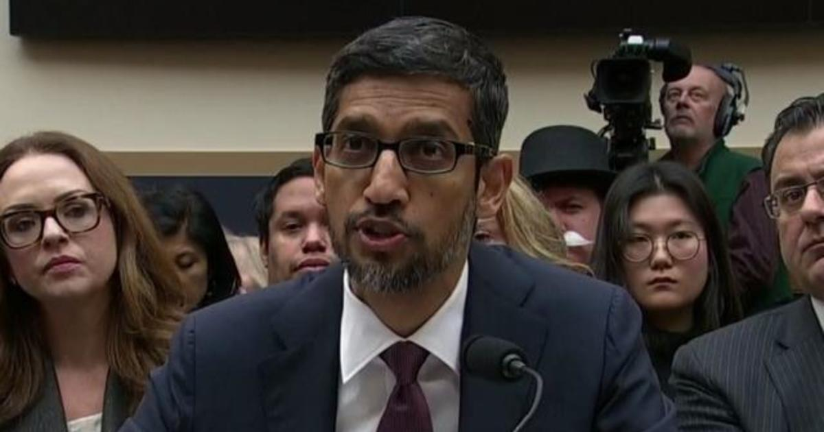Top takeaways from Google CEO Sundar Pichai's testimony ...