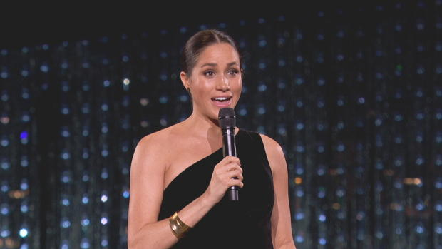 Meghan Markle Makes Surprise Appearance At 2018 British Fashion