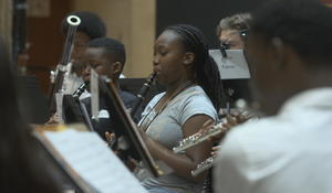 Music program helps Baltimore students strike the right chord