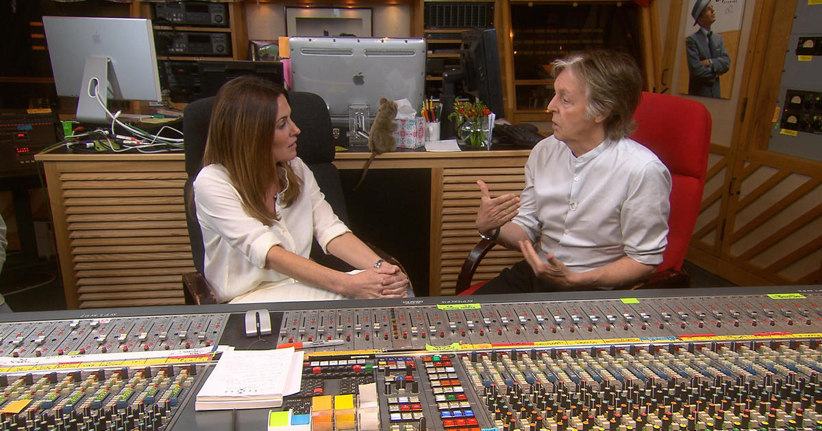 More from Paul McCartney on 60 Minutes