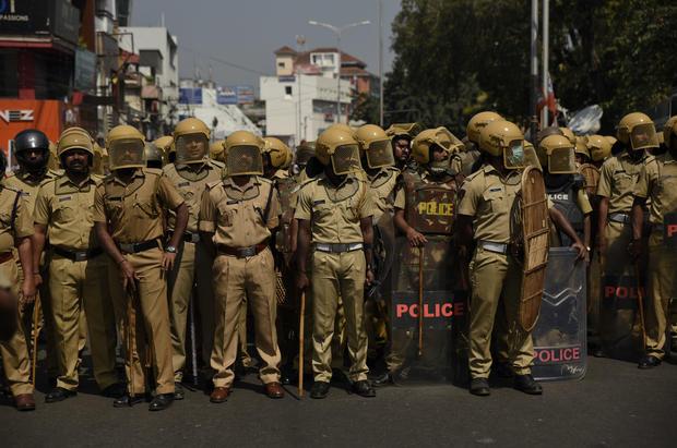 India Temple Protest